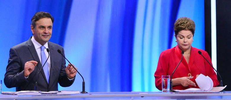 Pesquisa foi realizada entre os dias 23 e 24 de outubro e mostra Aécio e Dilma empatados tecnicamente