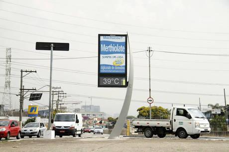 Sensação térmica na zona norte chegou a 39°C