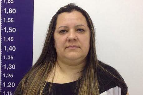 A suspeita Thelma Nobre Martins foi presa em casa