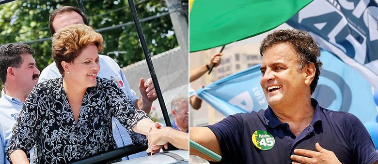 Dilma tem 52% dos votos válidos e Aécio soma 48%, de acordo com pesquisa Vox Populi com 2.000 eleitores