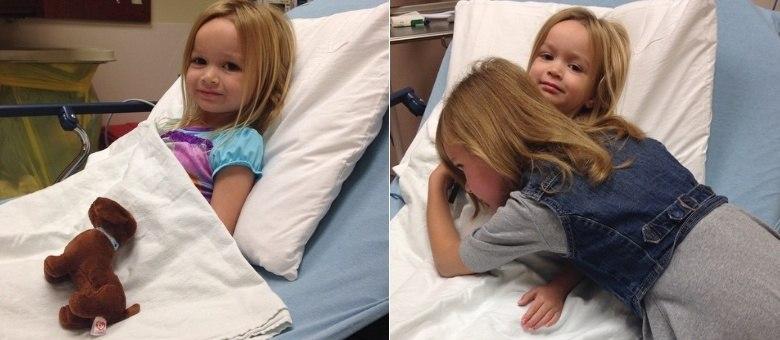 Queridinha Da Internet, A Pequena Chloe Está No Hospital