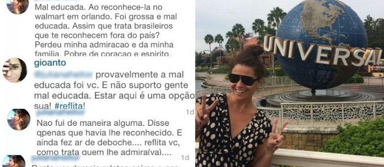 Giovanna Antonelli Bate Boca Com Seguidora No Instagram Eu Não