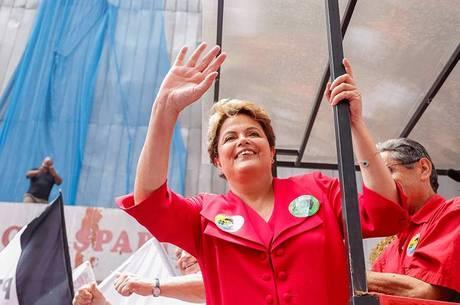 Dilma encerrou sua campanha em Porto Alegre