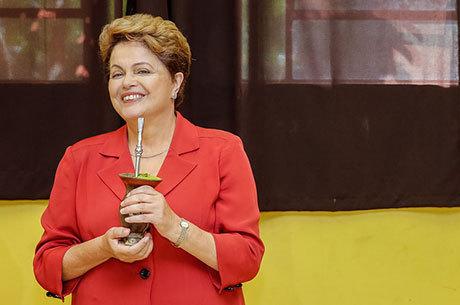 Dilma liderou as pesquisas eleitorais e confirmou vantagem na urna
