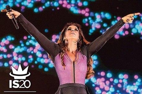 Ivete se recupera de dengue e faz show em São Paulo