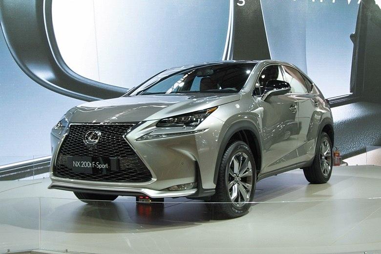 Salão do Automóvel 2014: Lexus NX chega em 2015 para disputar espaço com SUVs compactos de luxo
