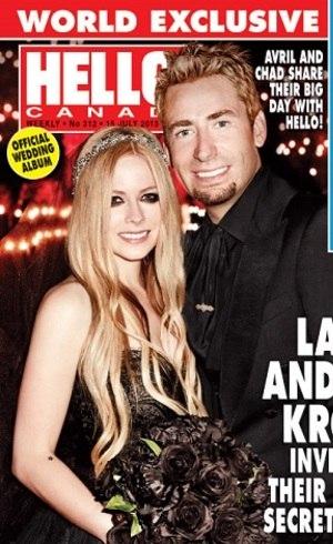 Avril Lavigne e Chad: divórcio à vista?