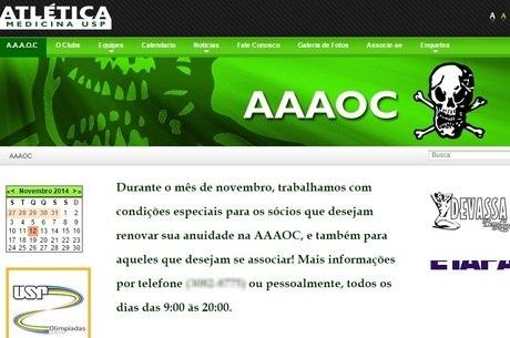Site oficial da Atlética Oswaldo Cruz