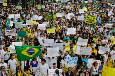 Protesto em 1º de novembro reuniu 3.000 pessoas