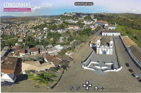 Site leva internautas até pontos turísticos de Congonhas