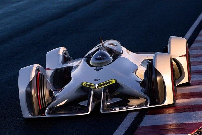 Do videogame para a realidade: Chevrolet mostra o Chaparral 2X VGT, carro criado para o Gran Turismo 6