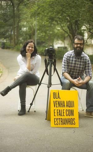 Adriana e Daniel pretendem percorrer o Brasil em busca de boas histórias