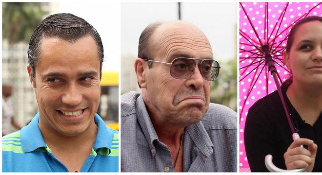 Histórias de gente comum: Angelo, o rapaz que nega as tentações da carne para ser fiel à mulher; Galvão, o homem que diz ter prendido o ex-presidente Lula; e Nayara, que descobriu que o namorado saia com várias mulheres
