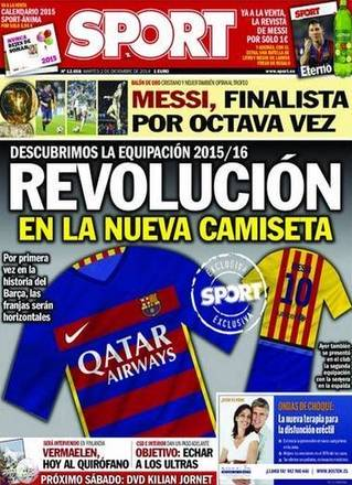 Suposto novo uniforme do Barcelona muda radicalmente e já vira ... 82941582ac7ab