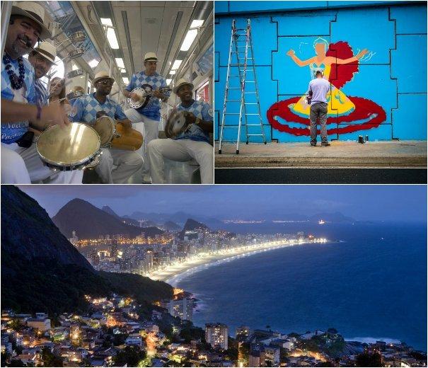 2371fb9b5 Agenda Cultural Rio: Trem do Samba e festival de música do Vidigal ...