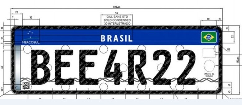 Modelo padrão dos países do Mercosul deve ser adotado no Brasil até 2023, segundo contran