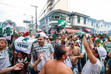 Torcida do Palmeiras será a única no dérbi do próximo domingo (8)