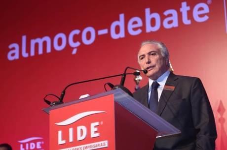 Vice-presidente se encontrou com empresários em São Paulo