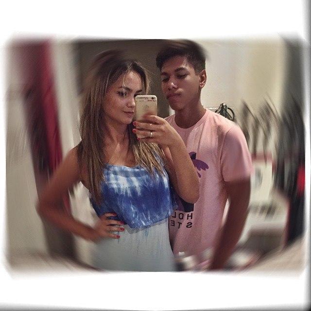 Suzanna Freitas, filha de Kelly Key, passa Natal com o namorado