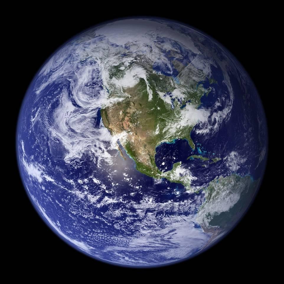 Foto 6 Foto 6: Sem Photoshop: Fotos Revelam Que A Terra é Um Planeta