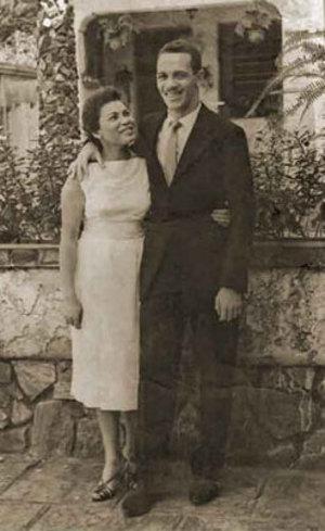 Hilda e o marido, Paulo Valentim