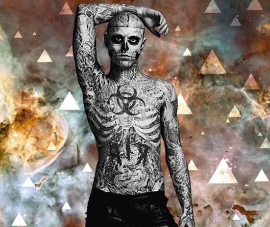 Radicais Da Tattoo Cobrem O Corpo Com Desenhos Insanos Fotos