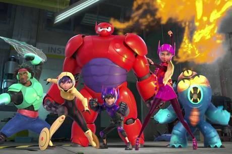Operação Big Hero ganhou o prêmio de Melhor Animação