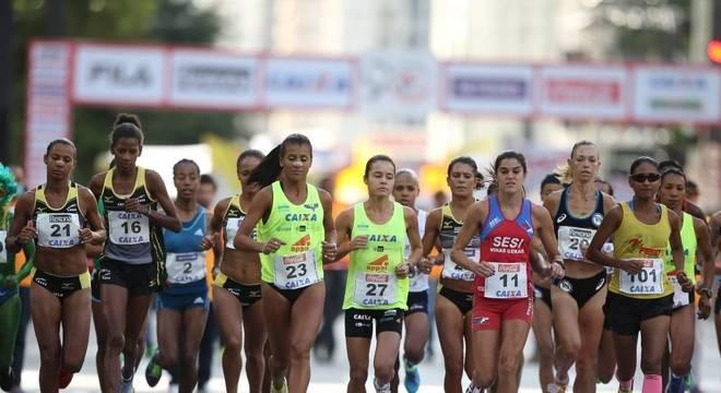 Mulheres na corrida de São Silvestre, em São Paulo (foto ilustrativa)