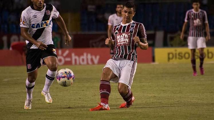 2015 - 4º - Naquela temporada, o Fluminense ficou em quarto lugar na classificação, jogada em pontos corridos, mas avançou para a fase final. O time, porém, caiu na semifinal para o Botafogo.