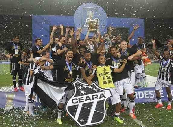 2015: Campeão - Ceará / Vice: Bahia