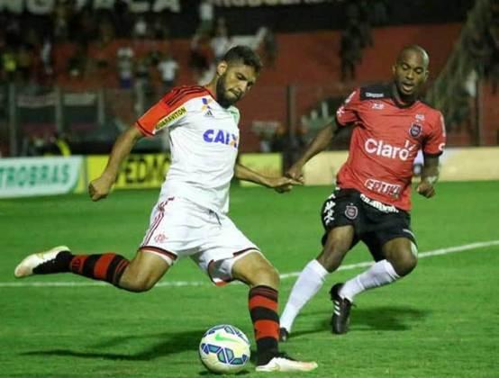 2015 - Contra o Brasil de Pelotas, pelas oitavas e fora de casa, o Flamengo estreou com vitória por 2 a 1 na casa do adversário. Alecsandro e Pará marcaram os gols do time rubro negro, ainda comandado por Luxemburgo.
