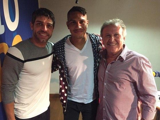 2015 - Em entrevista ao programa de rádio de Zico e Juninho, Guerrero afirmou que queria