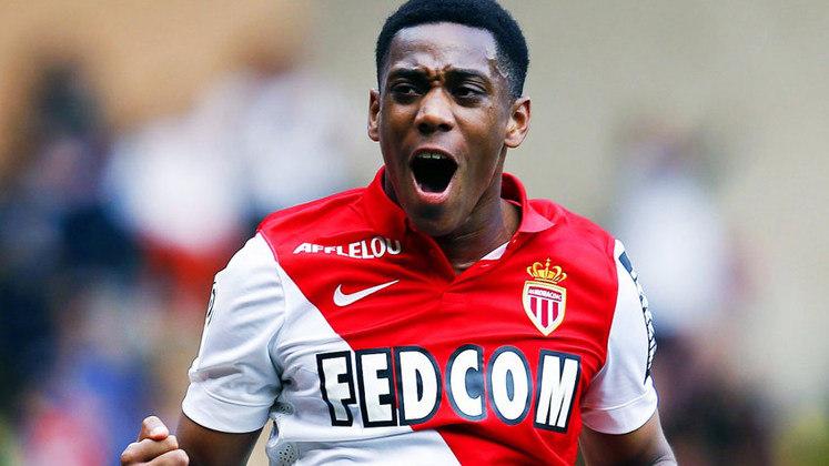 2015 - Martial (Monaco) - O francês está com 24 anos e é um dos atacantes importantes do Manchester United.