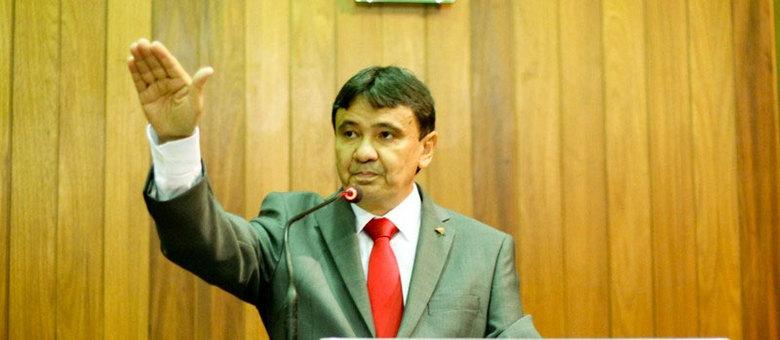 O petista Wellington Dias: será que ele já sabe o que vai desapropriar?