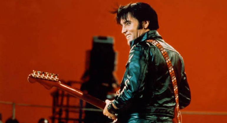 Elvis em especial na TV americana em 1968