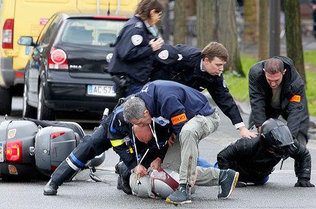 Sequestro terminou com quatro mortos e quatro feridos