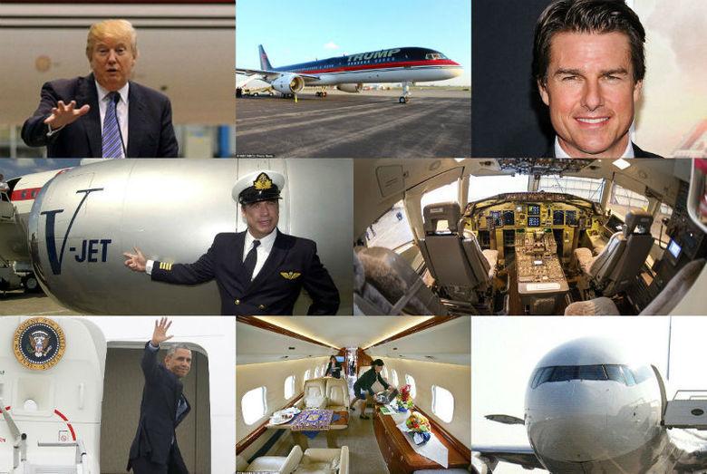"""""""Jato ostentação"""": conheça os aviões dos famosos e ..."""
