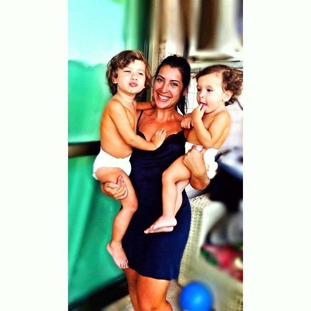 Ex-BBB Priscila Pires pratica 'levantamento de filhos' para ficar em forma. Entenda!