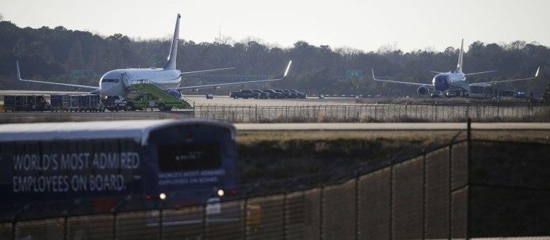 Aeronave da Delta Airlines havia saído de Portland e a da Southwest, de Mulwaukee
