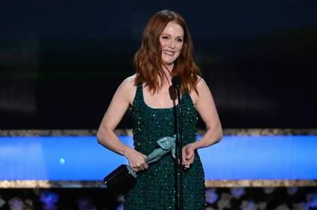 Julianne Moore foi eleita a melhor atriz pelo SAG Awards; ela é a grande favorita para levar o Oscar