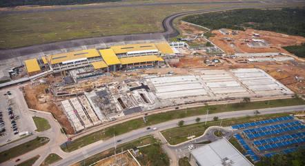 Aeroporto de Manaus (AM) foi um dos concedidos