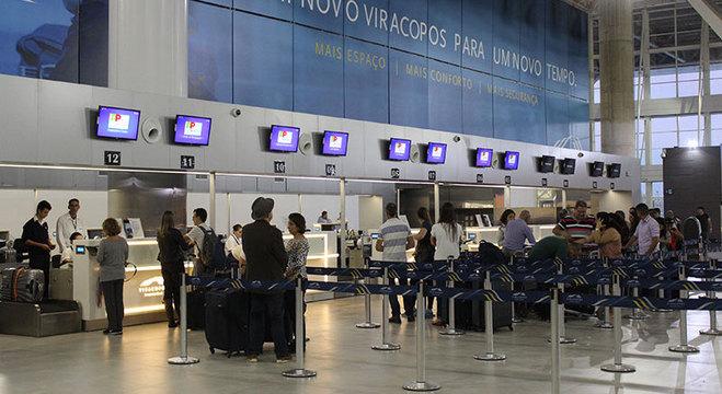 Funcionários do aeroporto devem se vacinar contra o sarampo