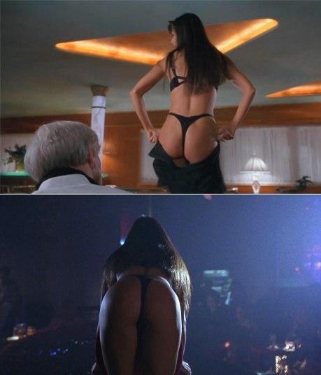 Quem não se lembra do alvoroço ao redor do filme Striptease? Demi Moore era uma stripper que fazia de tudo pela filha pequena. As cenas sensuais da atriz ainda são lembradas por muita gente e, com certeza, o bumbum da musa dos anos 90 é um dos motivos