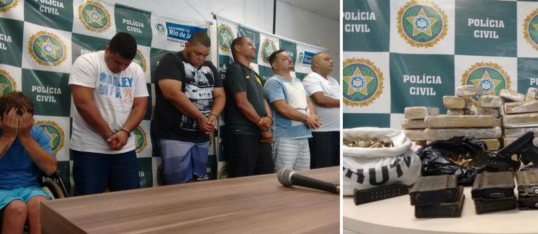 Quadrilha é suspeita de contrabandear armas e drogas e a auxiliar bando de Playboy a roubar cargas