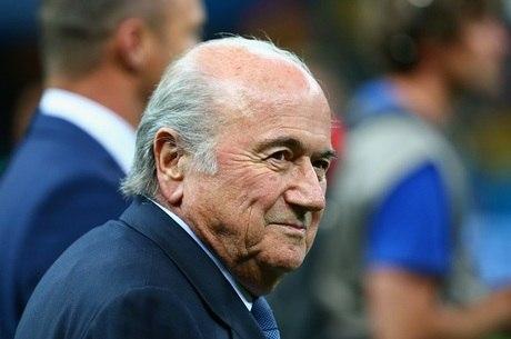 Joseph Blatter é o atual presidente da Fifa
