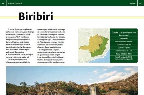 Guia tem dados sobre 16 parques estaduais de Minas
