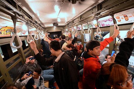 Metrô de Nova York corta toda a cidade