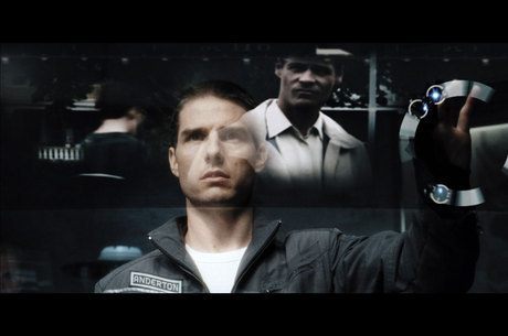 No filme, Tom Cruise investiga 'pré-crimes'
