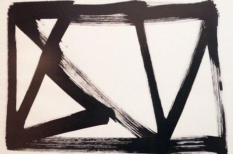 Gravura do artista mineiro Amilcar de Castro é uma das obras da Exposição no Museu dos Correios