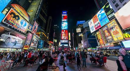 Times Square, em NY: um dos símbolos dos EUA